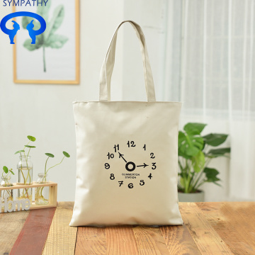 Custom simple canvas bag oblique span bag