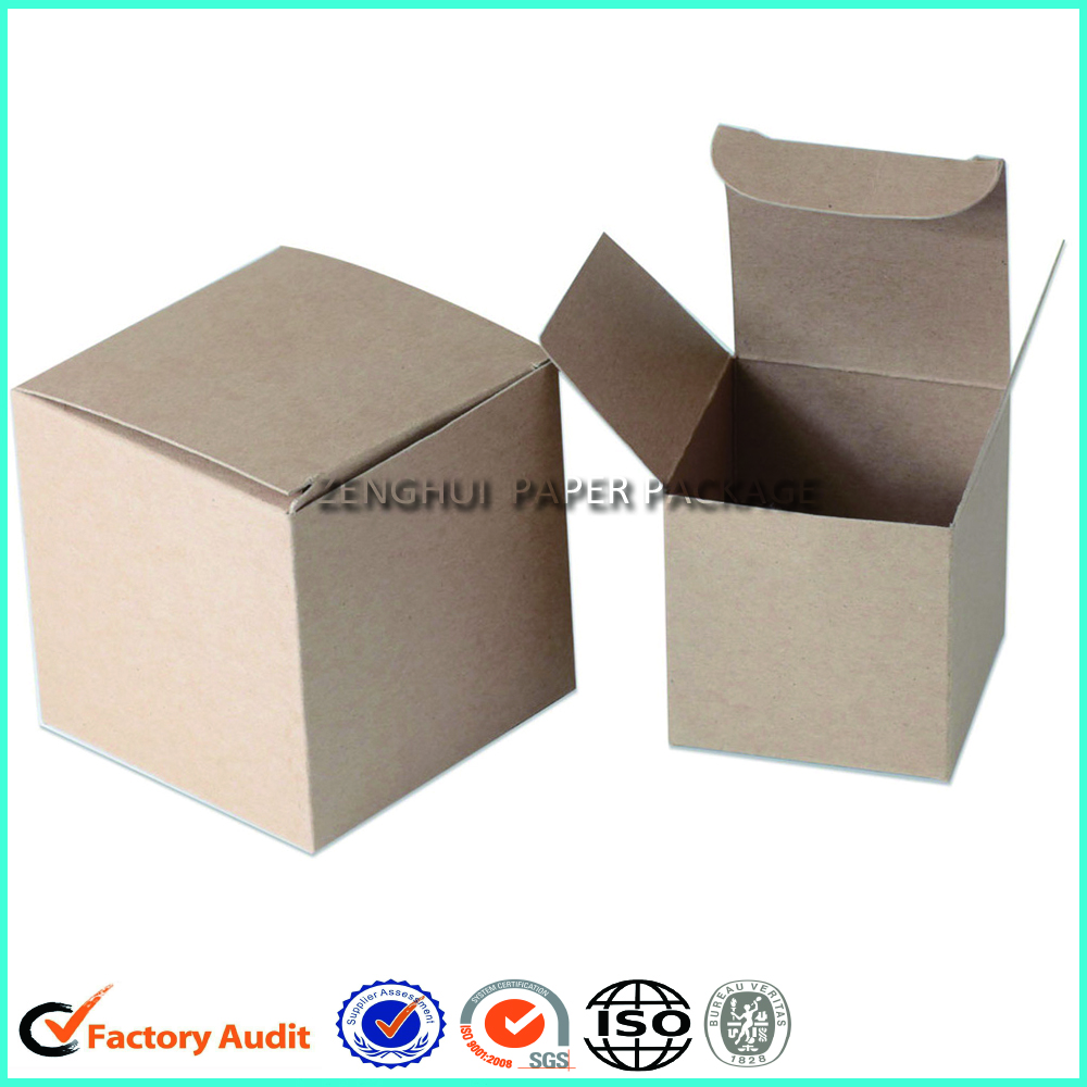 Custom Cardboard Foldable Candle Boxes Packaing