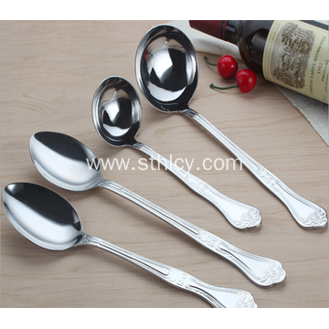 Stainless Steel Hot Pot Spoon Long Handle Spoon