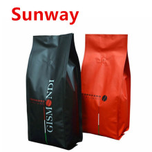 High Quality Industrial Factory for Resealable Coffee Bags Coffee Bags with Valve supply to South Korea Suppliers