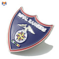 Professional soft enamel military metal badge maker