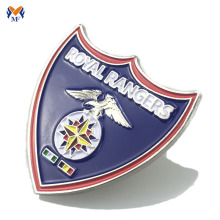 Popular Design for for Lapel Pin Badge professional soft enamel military metal badge maker export to Switzerland Wholesale