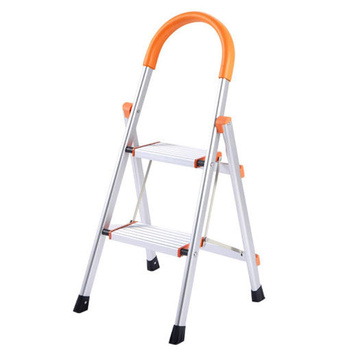 Aluminum folding step lader