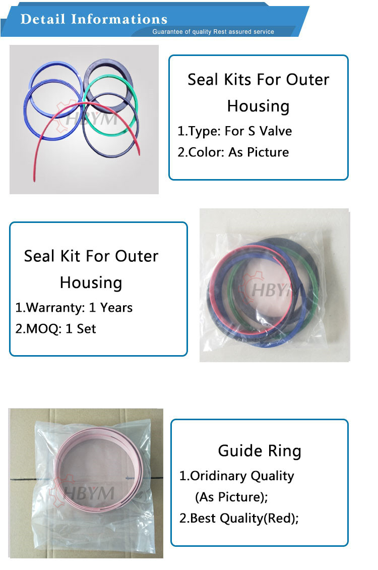 outer housing seal kits