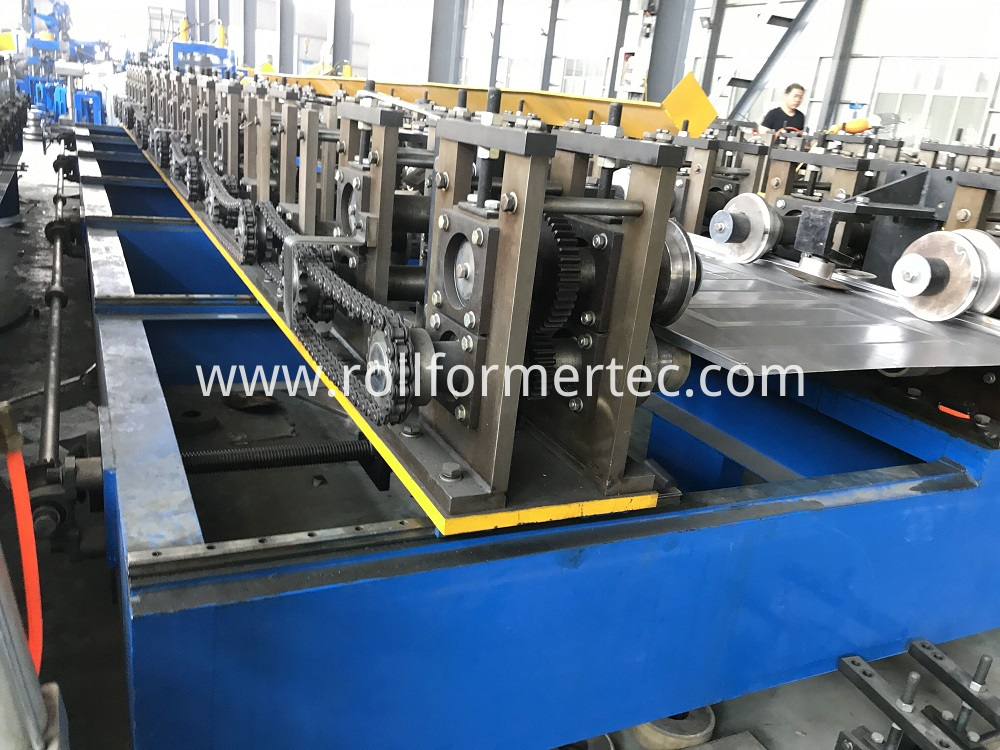 Hollow metal door rollforming line (8)