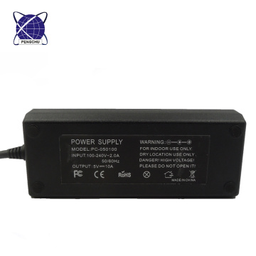 Factory Price desktop AC DC adapter 5V 10A