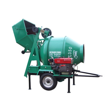 Self diesel used 350 litre concrete mixer machines