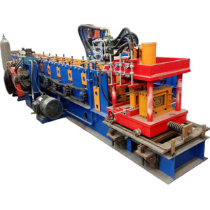high quality/automatic purlin z beam roll forming machine