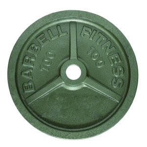 100LB Olympic Iron Weight Plate