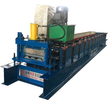 Galvanized steel siding wall panel roll forming machine