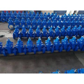 DIN 3352 F4/F5 Rubber wedge seated gate valve