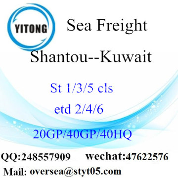 Shantou Port Sea Freight Shipping To Kuwait