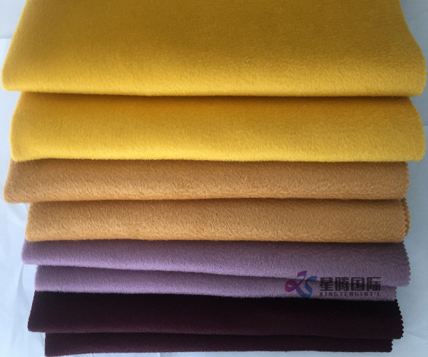 High Quality Water-wave 100% Wool Fabric Double Face