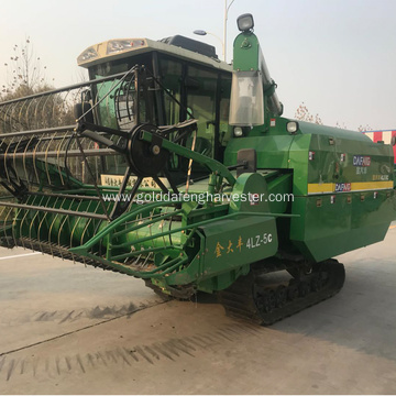 rice combine low diesel consumption harvester