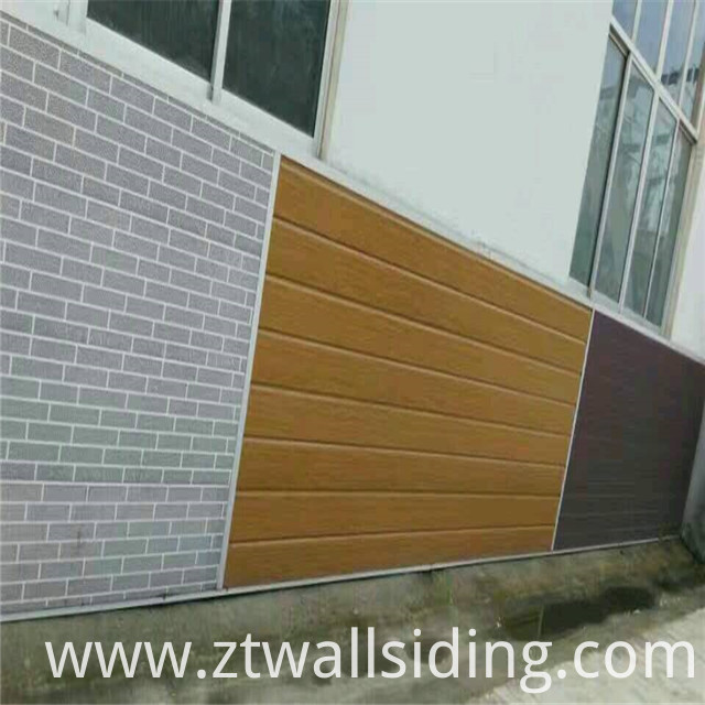 Insulated Pu Foam Sandwich Panel For Prefabricated House
