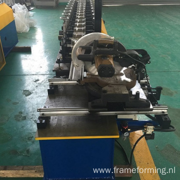 Popular steel shutter rolling door making machine for factory