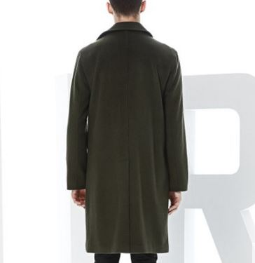 Men's 70% Wool 30% Cashmere Coat