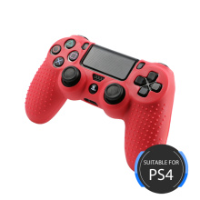 Camo Color Silicone Cover for PS4 Controller Red