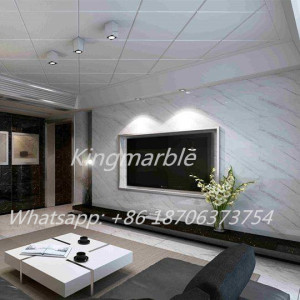 China Professional Supplier for Pvc Shower Wall Marble Panel High quality pvc marble wall panel for interior decoration export to Romania Supplier