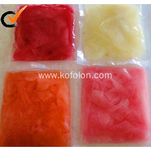 Hot New Products for White Sushi Ginger grade a pickled pink sushi ginger export to Puerto Rico Manufacturers