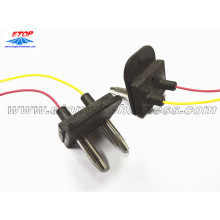 10 Years manufacturer for overmolded IP67/68 connectors assembling Molded 2PIN connector supply to India Suppliers
