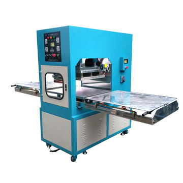 Shuttle way high frequency PVC welding machine