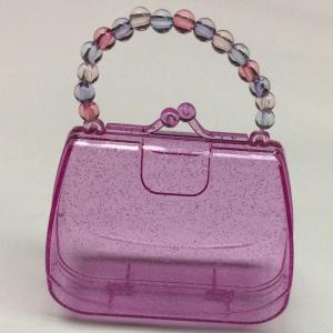 Plastic handbag storage box