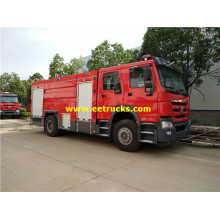 8ton HOWO Military Fire Trucks