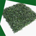 Artificial boxwood leave hedge