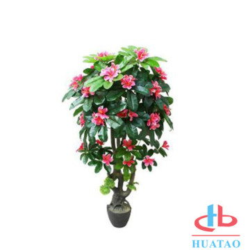 Ceramic artificial plants with pot for home decor