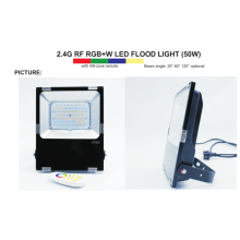 Factory Price for Waterproof Outdoor LED Flood Light 4-zone remote control wifi RGBW 50w export to Andorra Manufacturers