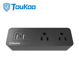 Wholesale Price for USB Wall Socket 2-outlet USB ports wall expansion socket export to South Korea Factories