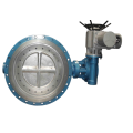 large size professional ductile iron body of butterfly valve for gas