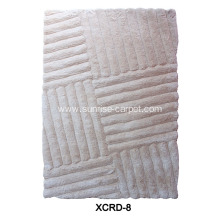 Microfiber Carpet with 3D Pattern