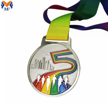 Best custom rainbow finisher medals for sale