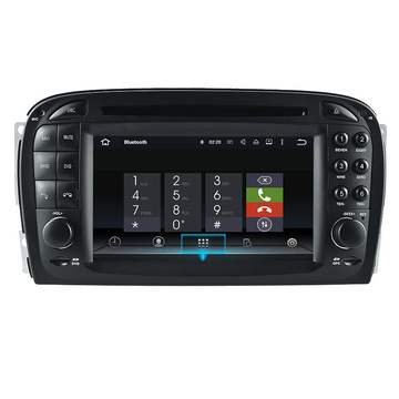 Benz Radio Car Stereo Auido Odtwarzacz DVD