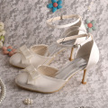 Wedopus Mint Green Wedding Bridesmaid Shoes