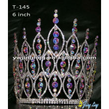 Castle AB Crystal Pageant Crown