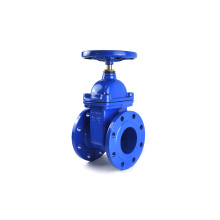 wholesale cast iron BS5163 resilient seat non rising stem gate valve