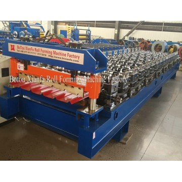 New Trapezoidal Metal Panel Roll Forming Machine