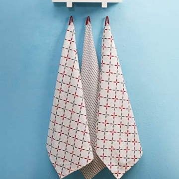 Best Quality for Printed Kitchen Tea Towel Unique Printed Cotton Dish Towels export to Portugal Exporter