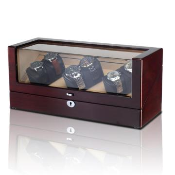 Led Watch Winder Case 6 Watches