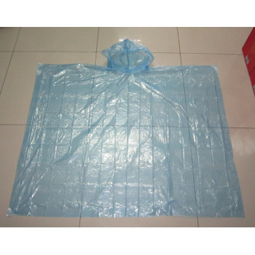 colorful LDPE rain cape
