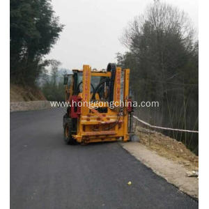 Highway Guardrail Pile Driver for Plateau Area