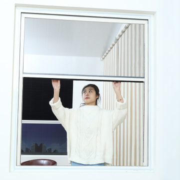 Retractable window with aluminum frame 0919