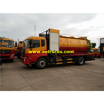 Dongfeng 6ton Fecal Tanker Vehicles
