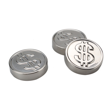 Icy Dollar Coin Stainless Steel Wine Chillers