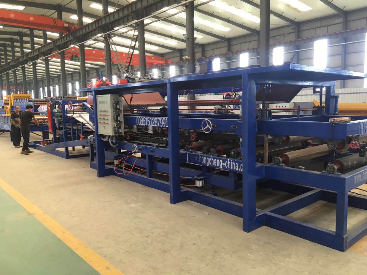 Expandable Polystyrene Sandwich Panel Machine