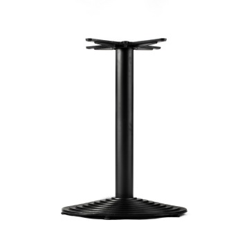 Metal Restaurant Black Cast Iron Table Base