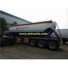 45m3 Bulk Dry Powder Tanker Trailers